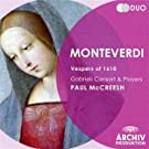 Monteverdi: 1610 Vespers