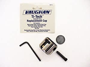 Vaughan RCP-1 Smooth Face Replacement Cap for TiTech Titanium Hammers.