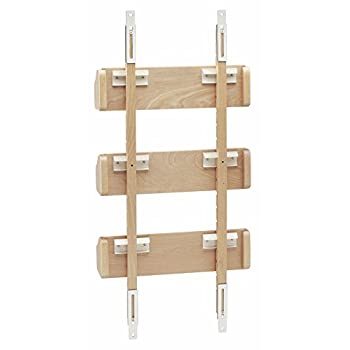 Rev-A-Shelf - 4ASR-15 - Small Cabinet Door Mount Wood Adjustable 3-Shelf Spice Rack
