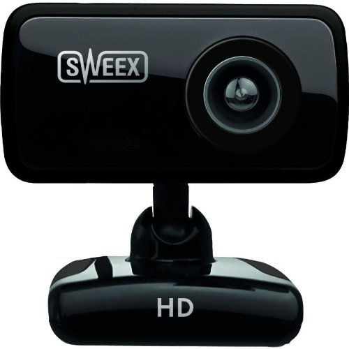 Sweex WC250 HD Webcam - Black