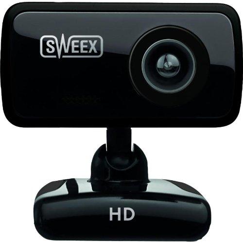 Sweex WC250 HD Webcam - Black