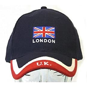 London England Baseball Cap UK with adjustable strap