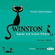 Agent auf leisen Pfoten (Winston 2) Hörbuch von Frauke Scheunemann Gesprochen von: Oliver Kalkofe