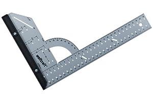 Wolfcraft 5205000 - Escuadra universal, longitud del lado 300 mm, con tope de plástico extraíble   revisión y descripción más