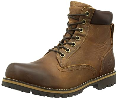 "Timberland Earthkeepers Rugged 6"" Waterproof, Men's Boots, Copper Roughcut, 6.5 UK"
