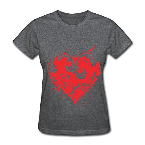 Cpy Women'S Serd Cotton T-Shirt Tee Deepheather Xs