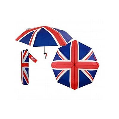 Collapsible Union Jack Umbrella & Cover
