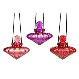 Cherry Valley Feeder Garden Gem Hummingbird Feeder 3 piece multi-pack
