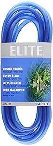 Elite Silicone Airline Tubing for Aquarium, 10-Feet, Blue