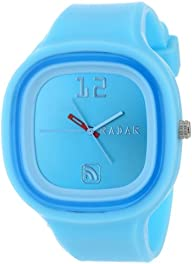 RADAR Watches Unisex AGLTB-0003 The Agent Interchangeable Silicone Analog Watch
