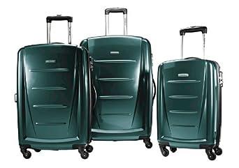 Samsonite Luggage Winfield II 3 Piece Set, Teal, One Size