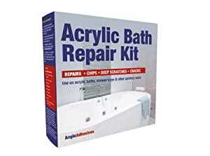 acrylic repair kit for baths and shower trays 1w28 european white