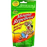 Shake-Away 4152424 Organic Mouse Animal Repellent-4PK MOUSE REPELLENT