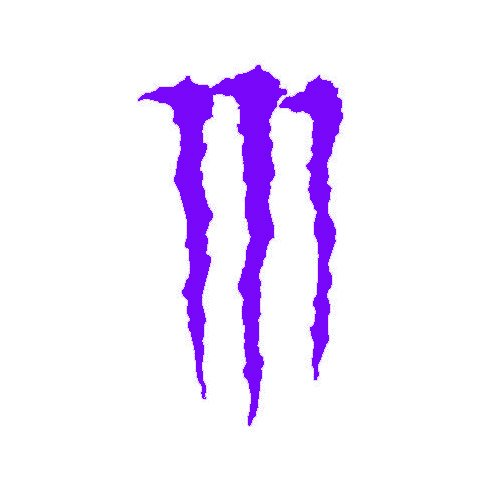 "Amazon.com: MONSTER ENERGY ""M"" LOGO - Vinyl Decal Sticker 10"" PURPLE"
