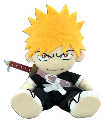 Official Bleach Plush Toy – 8″ Ichigo (GE-6981) image