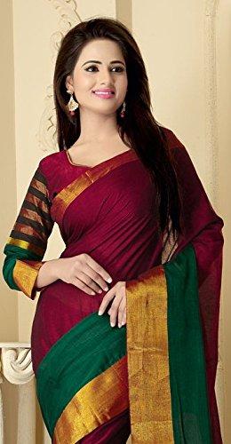82ad8a91a 42% OFF on Venisa Women s Cotton Saree (17303 Multi) on Amazon ...
