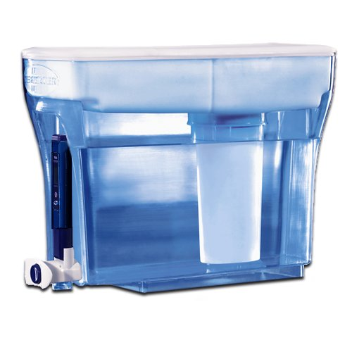 23 Cup Container Water Dispenser Filtration System Carbon