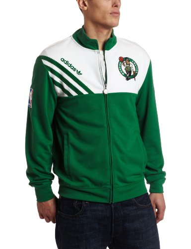NBA Men's Boston Celtics Orginals Court Series Action Jacket (Kelly, XX-Large) at Amazon.com
