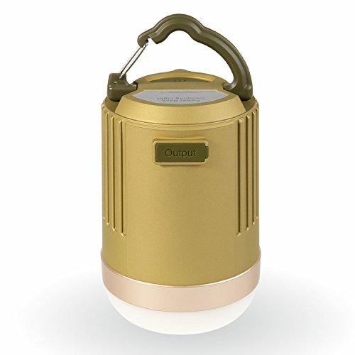 LED Lantern, Ubetter Portable Rechargeable Camping Lantern Ultra-Bright 440 Lumens IP65 Waterproof Long Lasting LED light & 8800mah USB Power Bank Use for Home, Garden, Hiking, Emergencies