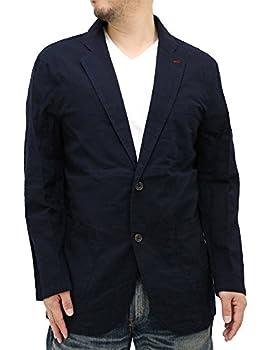 (マルカワジーンズパワージーンズバリュー) Marukawa JEANS POWER JEANS VALUE 大きいサイズ メンズ テーラードジャケット パナマ素材 2color 3L ネイビー