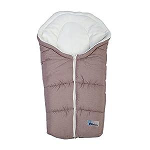 Altabebe Alpin Winter Footmuff for Baby Car Seat (0 - 12 Months, Light Brown/Whitewash)