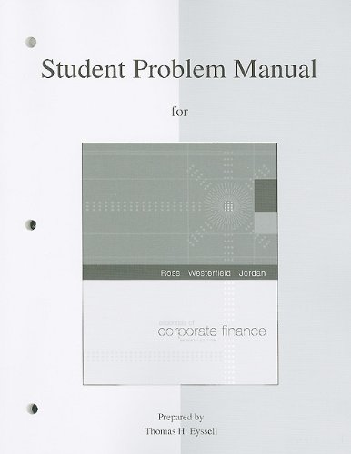 Student Problem Manual to accompany Essentials of...