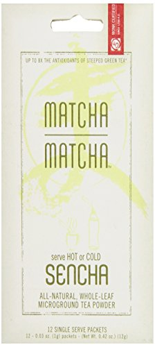 Matcha Matcha All Natural Green Tea Powder Stick Sencha, 0.42-Ounce