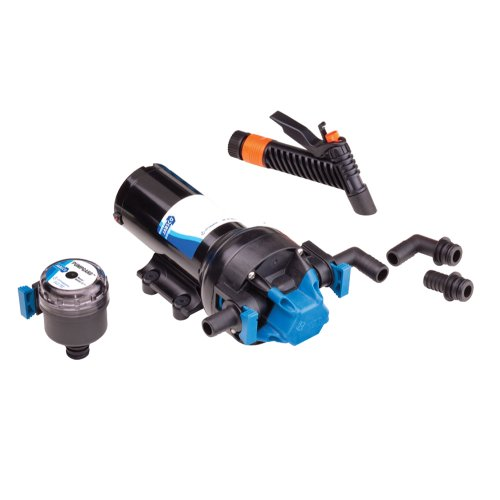1 - Jabsco Hotshot Series Automatic High Pressure Washdown Pump - 5.0Gpm-70Psi-12Vdc