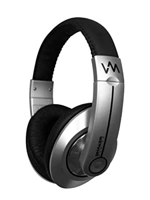NEW VM Audio SRHP6 Stereo MP3/iPhone iPod Over Head On Ear DJ Headphones Black