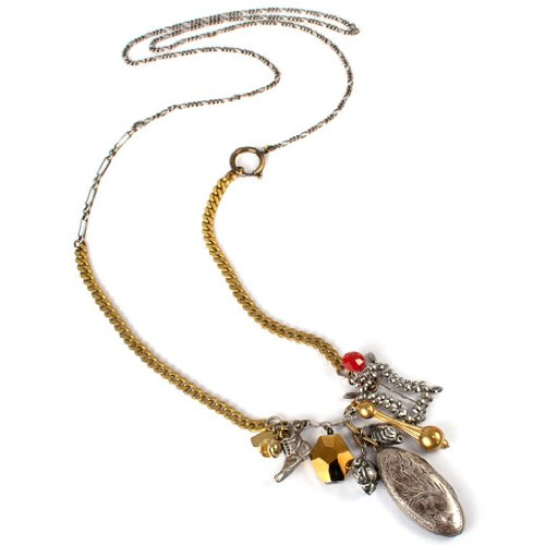 Patch NYC Vintage Locket Hunter Necklace