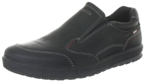 Ecco Bradley Black Quarry Slipper Mens Black Schwarz (BLACK) Size: 9 (43 EU)