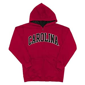 South Carolina Gamecocks Team Color NCAA Full Zip Hooded Sweatshirt by OuterStuff