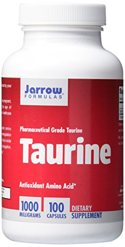 Jarrow Formulas Taurine, Brain and Memory Support, 1000 mg, 100 Caps (1000 Mg Taurine compare prices)