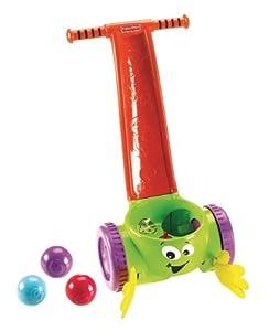 Fisher Price - Atrapa Bolitas Saltarinas, desarrollo de habilidades motoras (Mattel W9860) en BebeHogar.com
