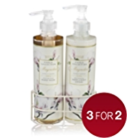 Floral Collection Magnolia Twin Rack Gift Set