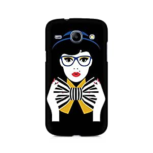 Ebby Bowtie Girl Premium Printed Case For Samsung Core I8262