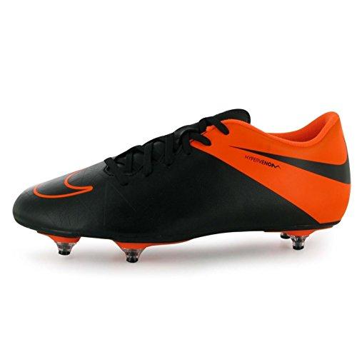 Nike Hypervenom Phade SG Terreno Morbido Scarpe da calcio da uomo nero/neve Soccer Cleats, Black, (UK7) (EU41) (US8)