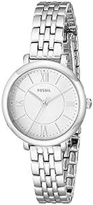 Fossil Women's ES3797 Jacqueline Small Analog Display Analog Quartz Silver Watch