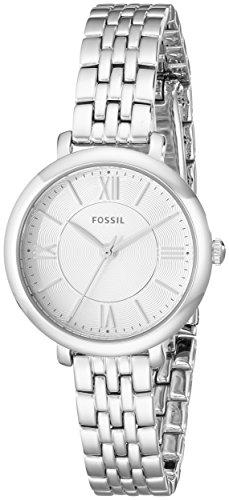 Fossil ES3797 - Orologio da polso Donna, Acciaio inossidabile, colore: Argento