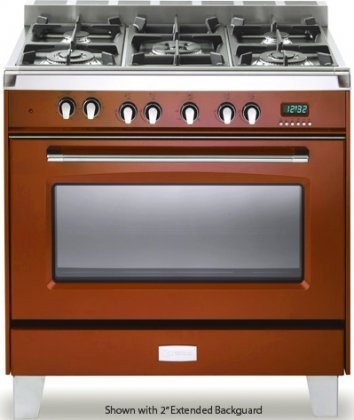 Verona-VCLFSGG365R-36-Classic-Gas-Range-in-Gloss-Red