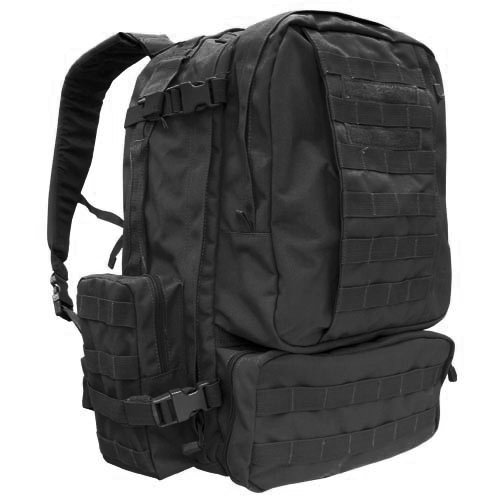 COP-125-002-3-Days Assault Back Pack - Color: Black (Condor Outdoor 3 Day Assault Pack compare prices)