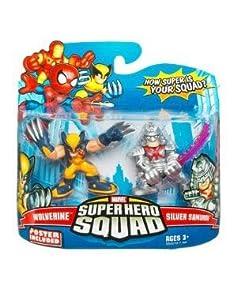 Marvel Superhero Squad Series 15 Mini 3 Inch Figure 2-Pack Wolverine and Samurai
