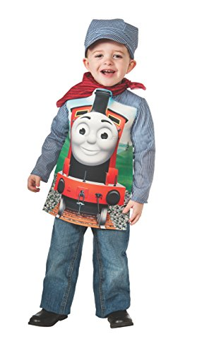 Deluxe James The Red Engine and Engineer Costume, Toddler