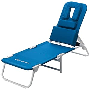 face down pool chair