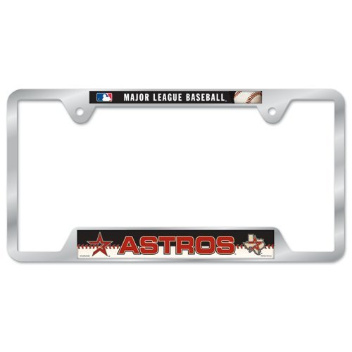 Houston Astros Metal License…