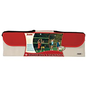 Franklin Sports Intermediate Badminton and Volleyball Set