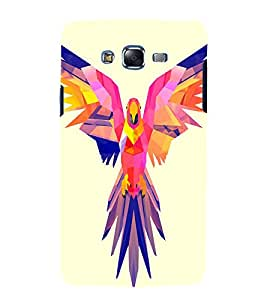 printtech Nature Bird Parrot Vector Back Case Cover for Samsung Galaxy Quattro i8552 / Samsung Galaxy Quattro Win i8552