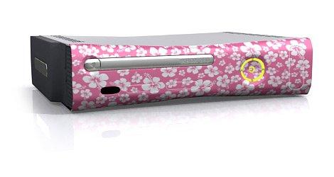 xbox 360 Faceplate-Skin - Aloha Pink