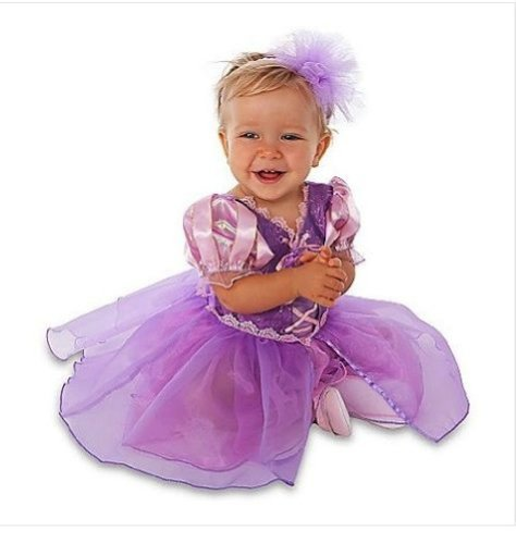 Tangled Princess Rapunzel With Headband