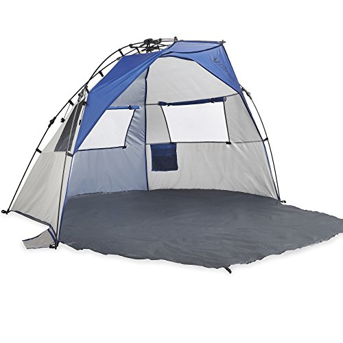 Lightspeed Outdoors Quick Cabana Beach Tent Sun Shelter, Blue (Rain Blow Pops compare prices)